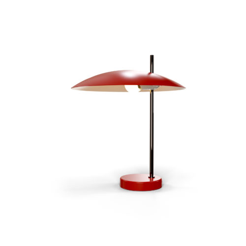 Lampe 1013 canon de fusil, rouge on
