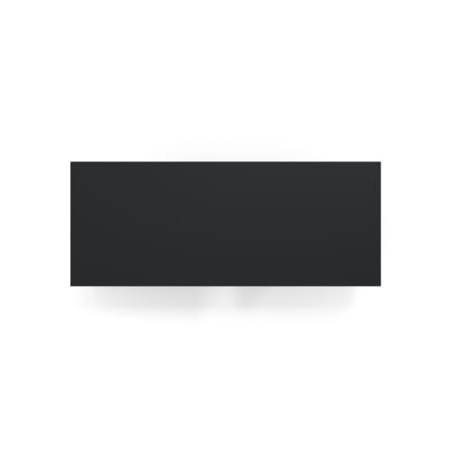 Applique 6135GM de Pierre Paulin, noir
