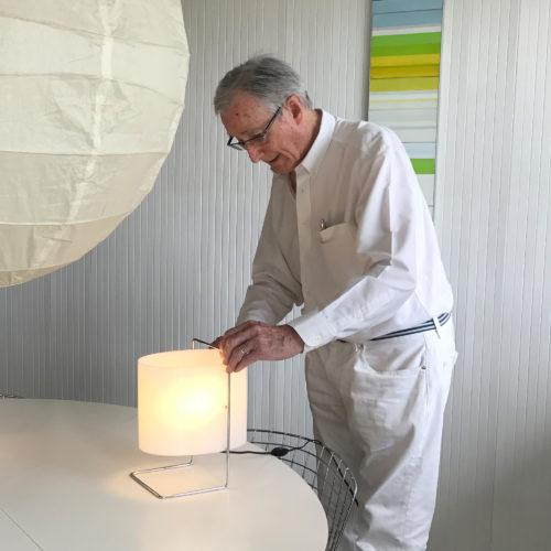Lampe à poser 1021 de Roger Fatus