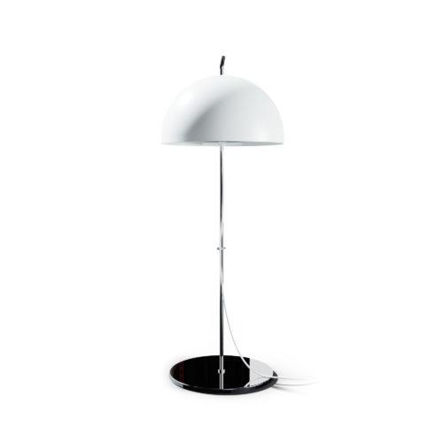 Lampe à poser A21 d'Alain Richard blanche