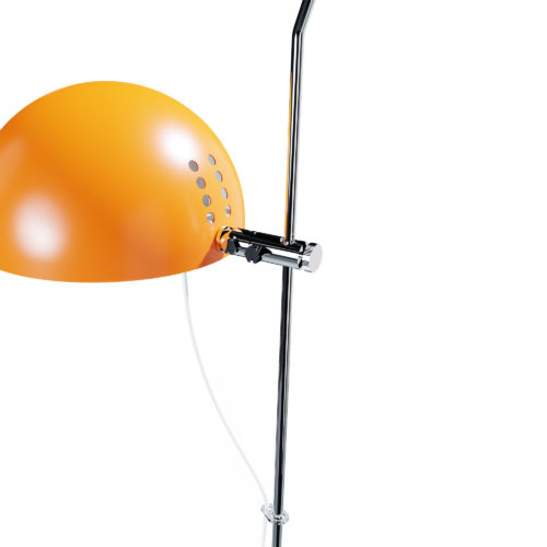 Lampe à poser A21 d'Alain Richard orange