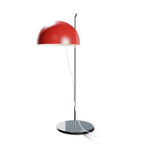 Lampe à poser A21 d'Alain Richard rouge